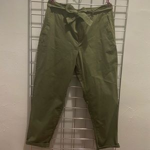 NWT Banana Republic Olive Green Chino